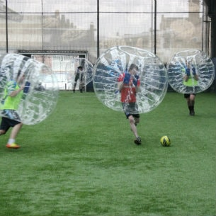 Bubble Soccer in Glasgow