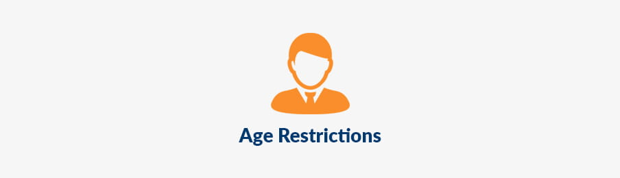 age restrictions when hiring a car in the UK banner