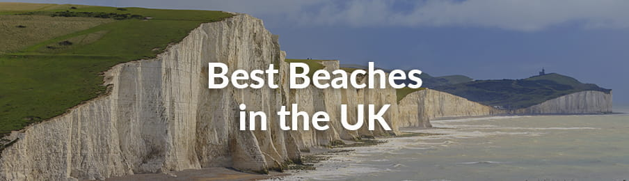 Best Beaches in the UK guide banner