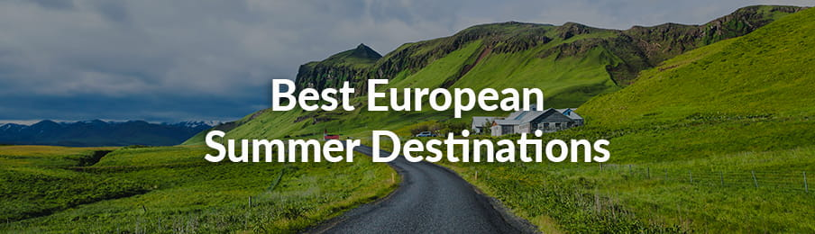Best European Summer Destinations guide banner