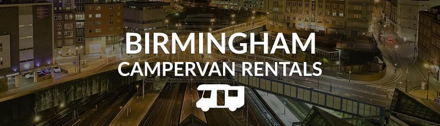 Birmingham Campervan Rentals in the UK banner