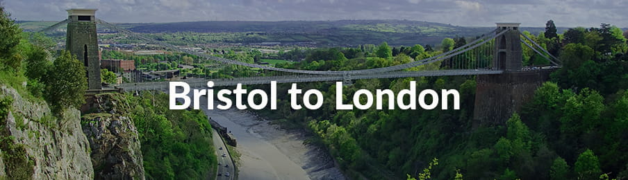 Bristol to London Road Trips guide banner