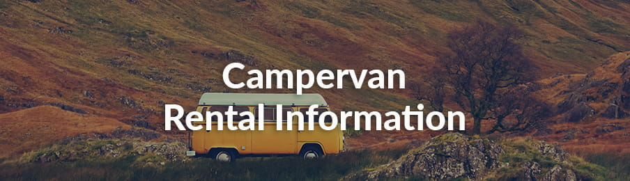 campervan rental information UK guide banner