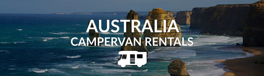 Australia Campervan Rentals in the UK banner