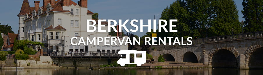 berkshire campervan rentals in the UK banner