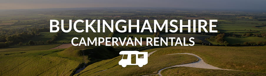 buckinghamshire campervan rentals in the UK banner