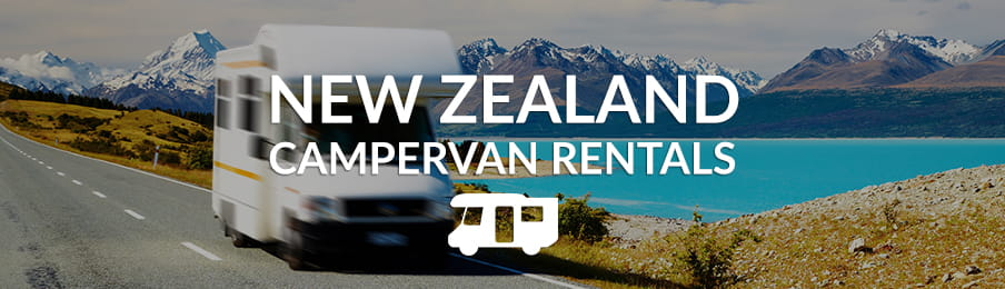 New Zealand campervan rentals in the UK banner