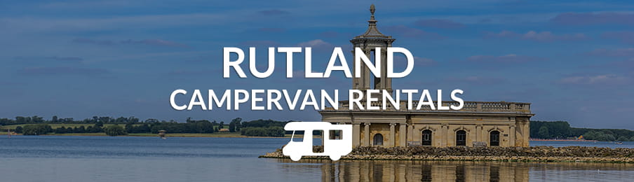 Rutland campervan rentals in the UK banner