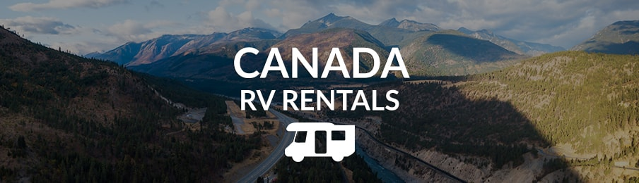 Canada RV rentals in Canada guide banner