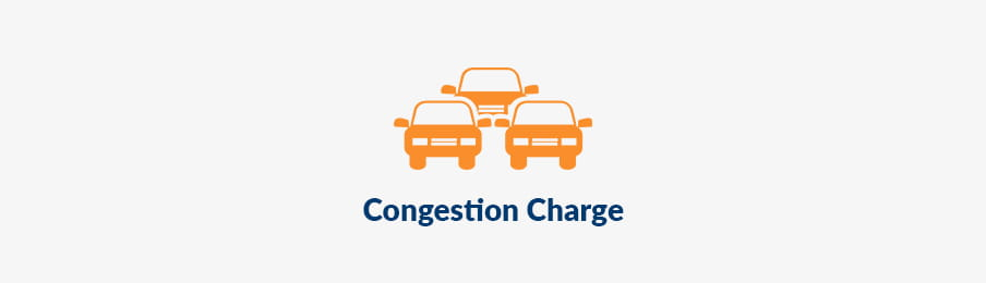 Congestion charge in London, UK guide banner