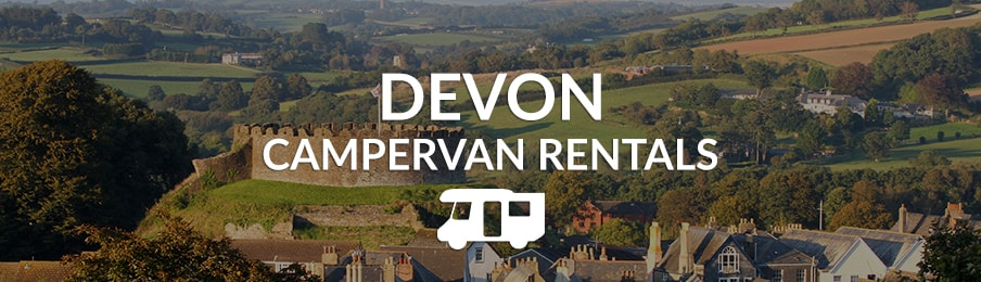 Devon Campervan Rentals in the UK banner