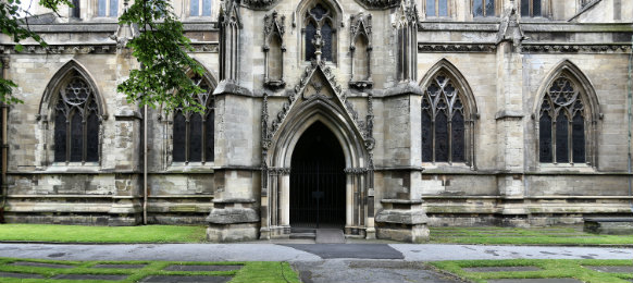 doncaster minster at church of st george in south yorkshire