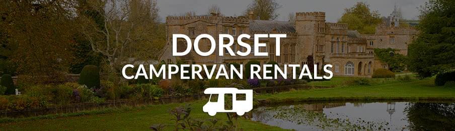 dorset campervan rentals in the UK banner