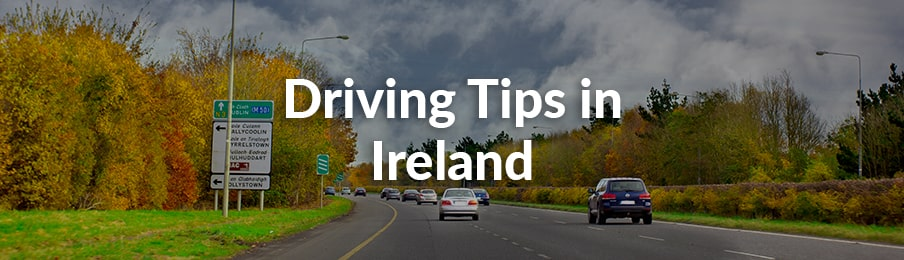 driving tips in ireland
