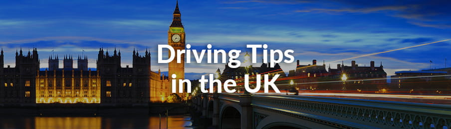 Driving Tips in the UK Guide banner