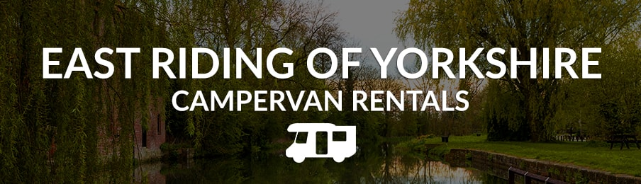 east riding of yorkshire campervan rentals in the UK banner