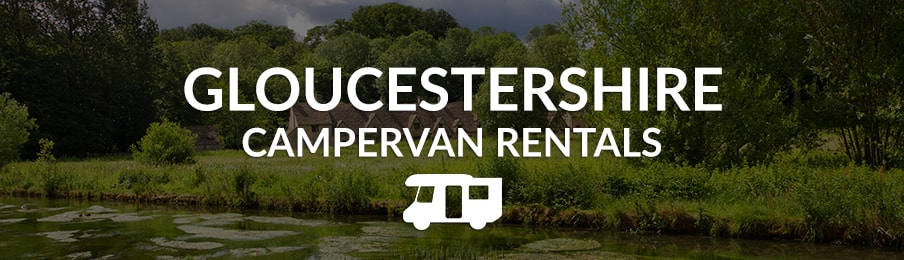 gloucestershire campervan rentals in the UK banner