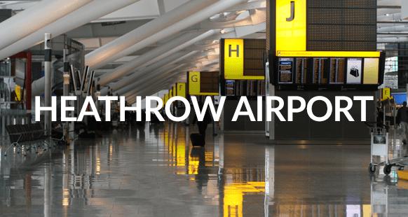 interior of heathrow airport