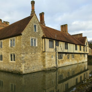 Ightham Mote near London Stansted Airport