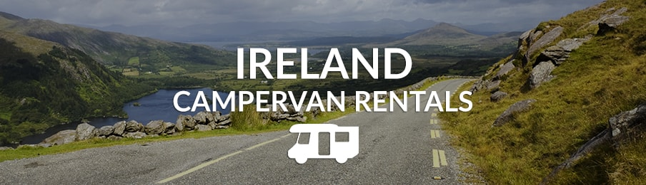Ireland campervan rentals in the UK banner