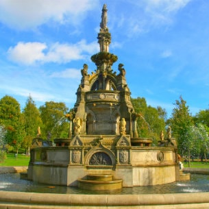 Kelvingrove Park in Glasgow