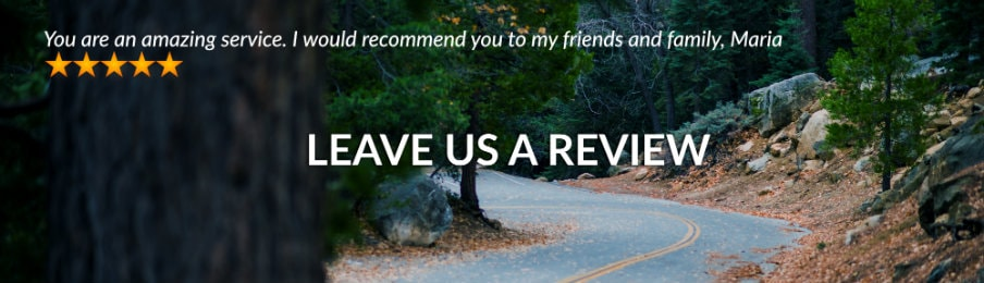 Leave a review UK banner
