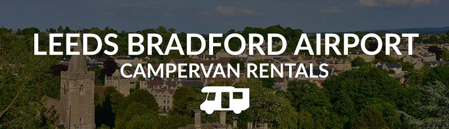 leeds-bradford-airport campervan rentals in the UK banner