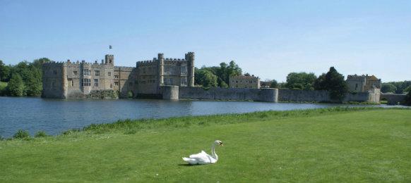 leeds castle in maidstone, kent
