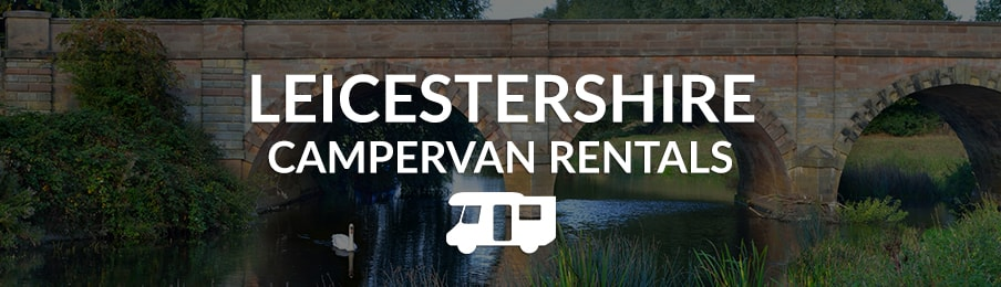leicestershire campervan rentals in the UK banner