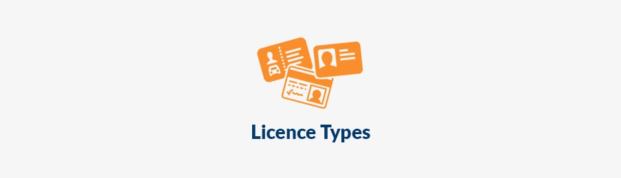 licence types