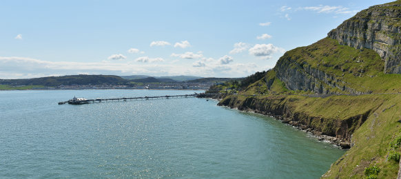 llandudno sea front north wales