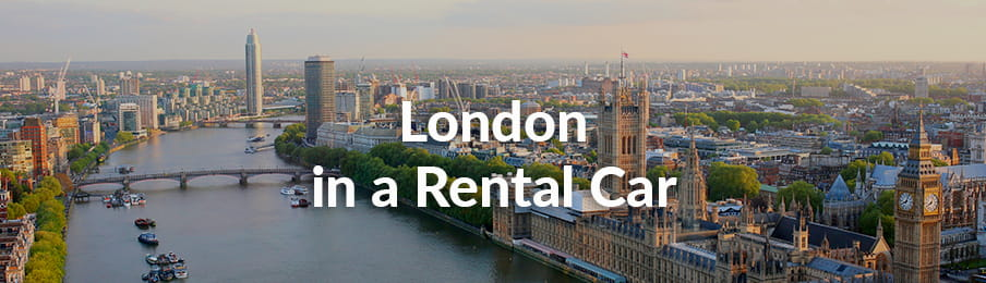 London In A Rental Car