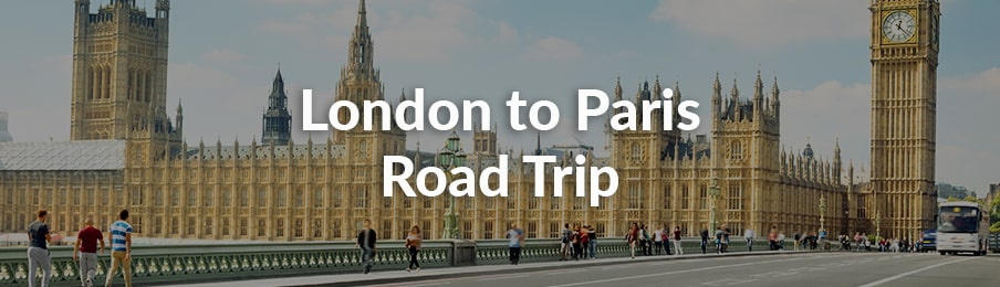 london to paris road trip