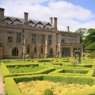 Newstead Abbey in Mansfield