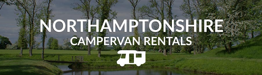 northamptonshire campervan rentals in the UK banner