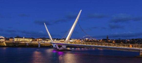 Peace Bridge at Derry