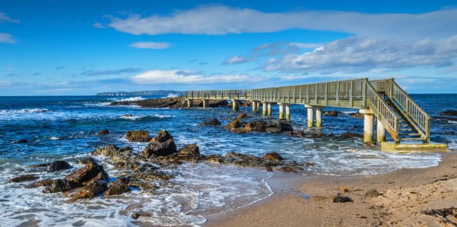 popular tourist spot ballycastle beach