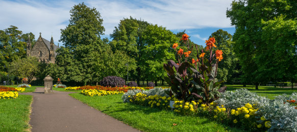 public garden in kings lynn