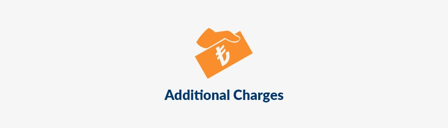 Additional charges in the UK banner