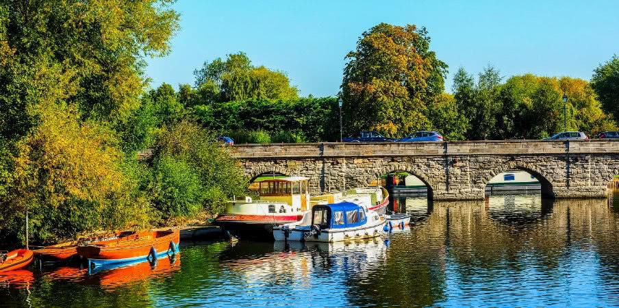 River Avon in Stratford, UK