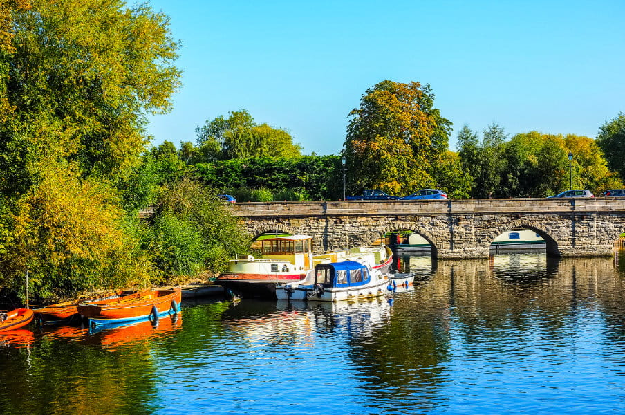 River Avon in Stratford, UK
