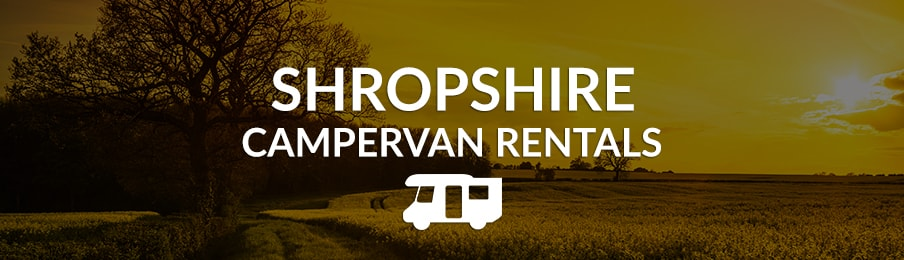 Shropshire Campervan Rentals in the UK banner