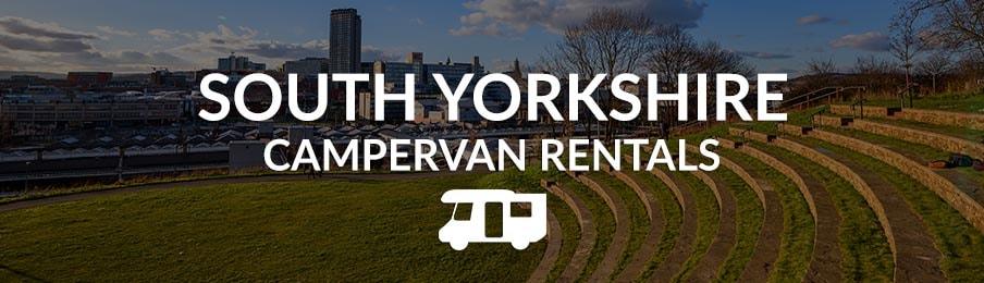 South Yorkshire Campervan Rental in the UK banner