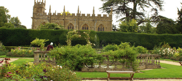 st mary church, sudeley castle in cheltenham