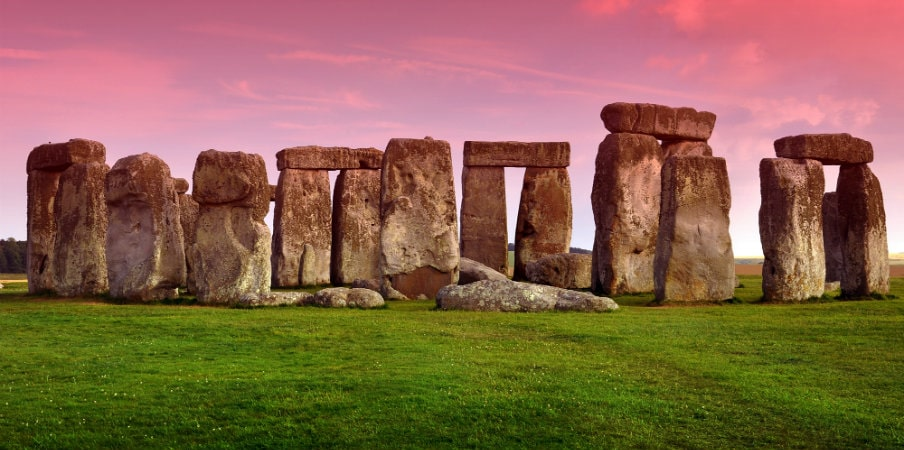 Stonehenge prehistoric monument in Wiltshire, UK