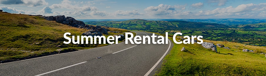 summer rental cars