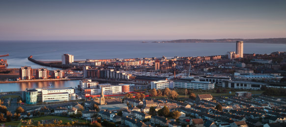 swansea centre and the bay area