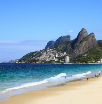 the famous ipanema beach