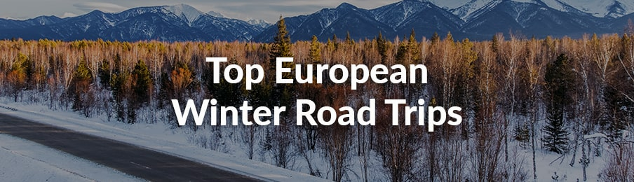 top european winter road trips