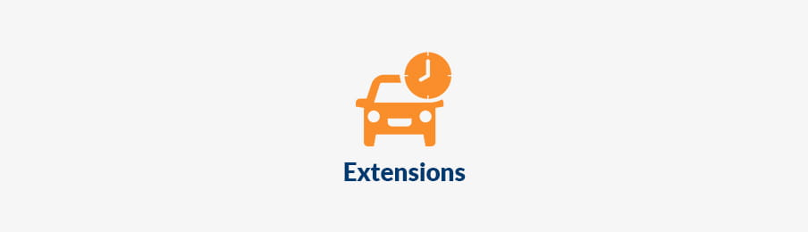Hire Car Extensions in the UK